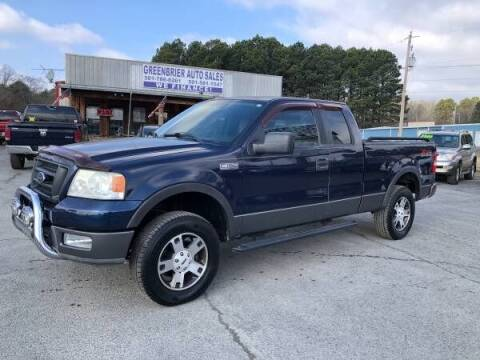 2005 Ford F-150 for sale at Greenbrier Auto Sales in Greenbrier AR