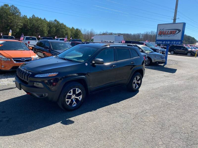 2014 Jeep Cherokee for sale at Billy Ballew Motorsports in Dawsonville GA
