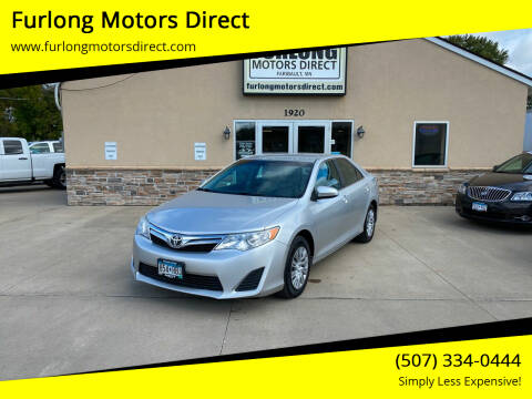 2013 Toyota Camry for sale at Furlong Motors Direct in Faribault MN