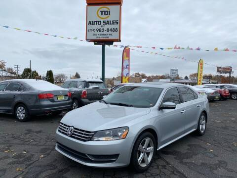 2013 Volkswagen Passat for sale at TDI AUTO SALES in Boise ID