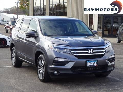 2016 Honda Pilot for sale at RAVMOTORS 2 in Crystal MN