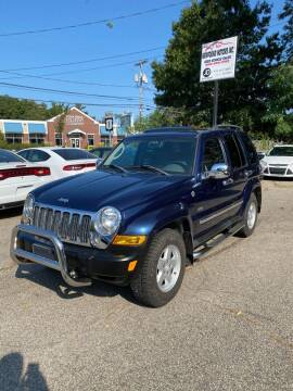 2006 Jeep Liberty for sale at NEWFOUND MOTORS INC in Seabrook NH
