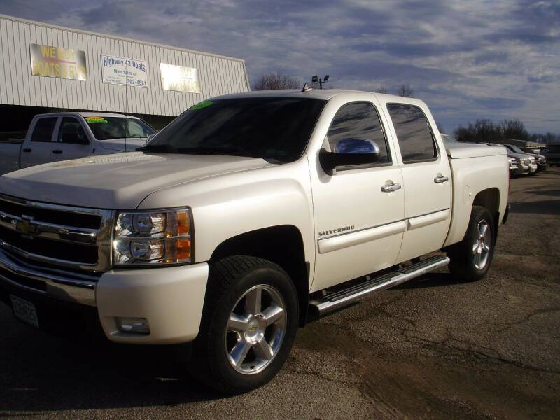 2011 Chevrolet Silverado 1500 for sale at HIGHWAY 42 CARS BOATS & MORE in Kaiser MO