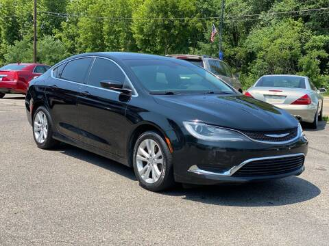 2016 Chrysler 200 for sale at Tonka Auto & Truck in Mound MN