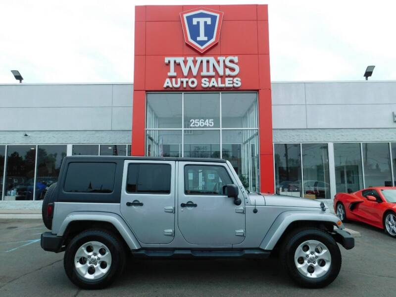 2013 Jeep Wrangler Unlimited for sale at Twins Auto Sales Inc Redford 1 in Redford MI