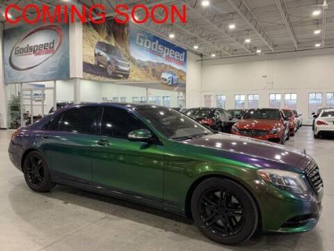 2016 Mercedes-Benz S-Class for sale at Godspeed Motors in Charlotte NC