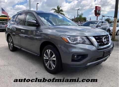 2017 Nissan Pathfinder for sale at AUTO CLUB OF MIAMI, INC in Miami FL
