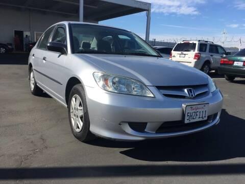 2004 Honda Civic for sale at Express Auto Sales in Sacramento CA