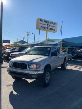 2001 Toyota Tacoma for sale at Borrego Motors in El Paso TX