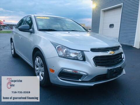 2015 Chevrolet Cruze for sale at Transportation Center Of Western New York in Niagara Falls NY