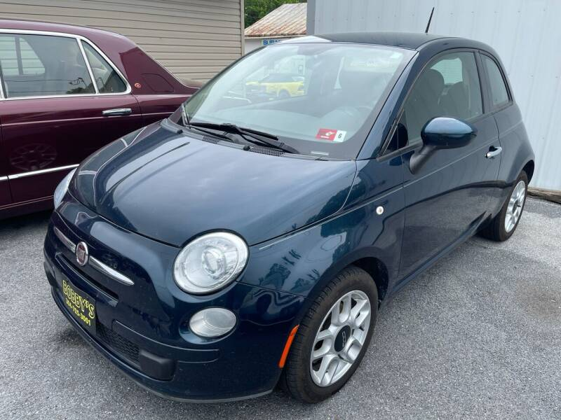 2015 FIAT 500 for sale at Bobbys Used Cars in Charles Town WV