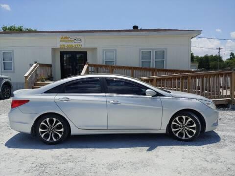 2013 Hyundai Sonata for sale at Auto Associates in Breaux Bridge LA