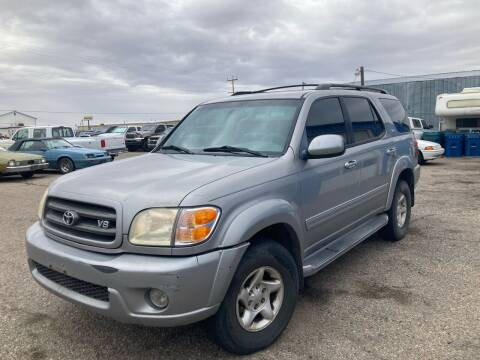 2002 Toyota Sequoia for sale at AFFORDABLY PRICED CARS LLC in Mountain Home ID