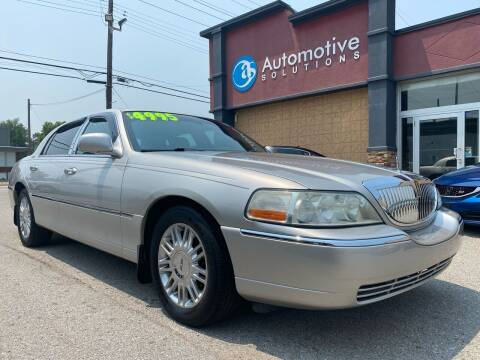 2004 Lincoln Town Car for sale at Automotive Solutions in Louisville KY