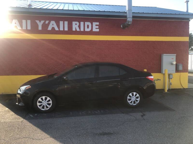 2015 Toyota Corolla for sale at Big Daddy's Auto in Winston-Salem NC