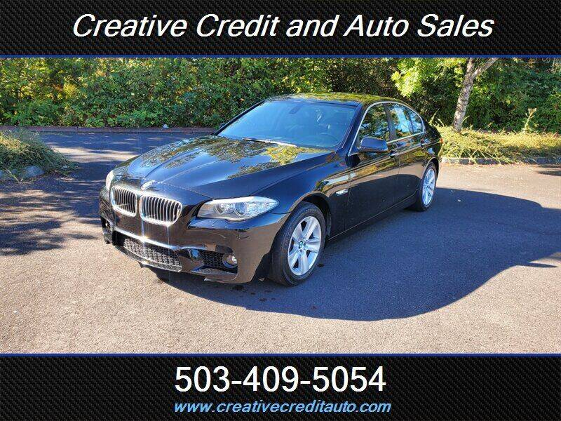 2011 BMW 5 Series for sale at Creative Credit & Auto Sales in Salem OR