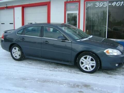 2011 Chevrolet Impala for sale at Cedar Auto Sales in Lansing MI