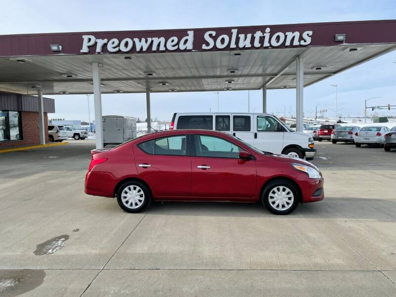 2019 Nissan Versa for sale at Preowned Solutions in Urbandale IA