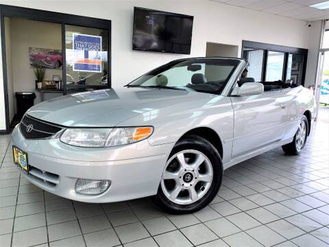 2001 Toyota Camry Solara for sale at SAINT CHARLES MOTORCARS in Saint Charles IL