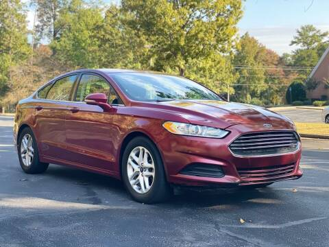 2016 Ford Fusion for sale at Top Notch Luxury Motors in Decatur GA
