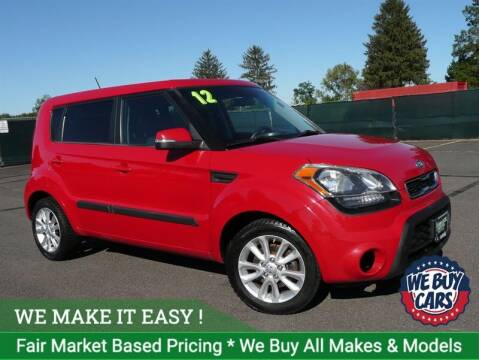 2012 Kia Soul for sale at Shamrock Motors in East Windsor CT