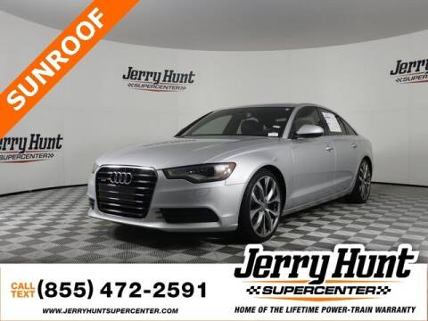 2014 Audi A6 for sale at Jerry Hunt Supercenter in Lexington NC