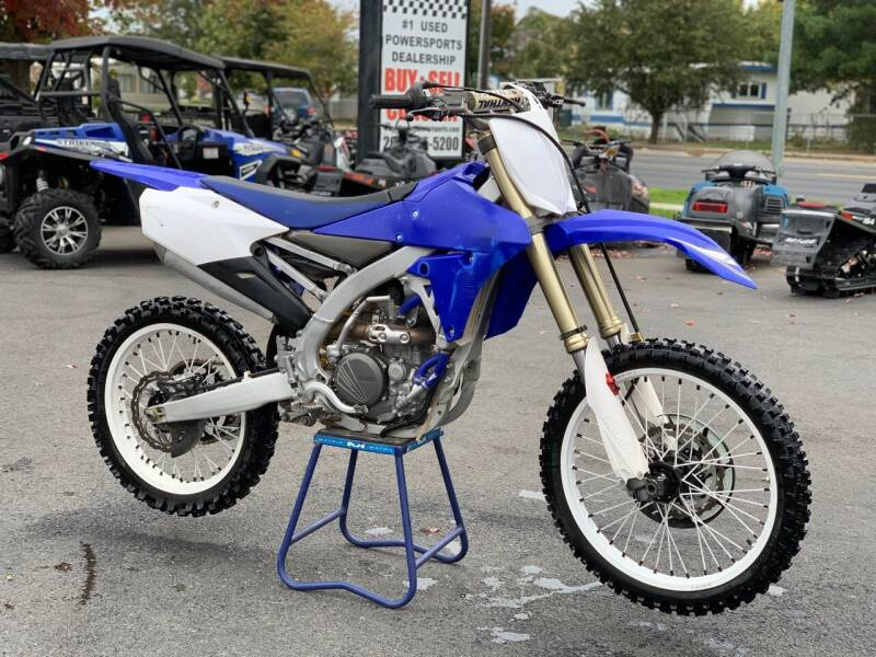 2017 Yamaha YZ 250F for sale at Harper Motorsports in Post Falls ID