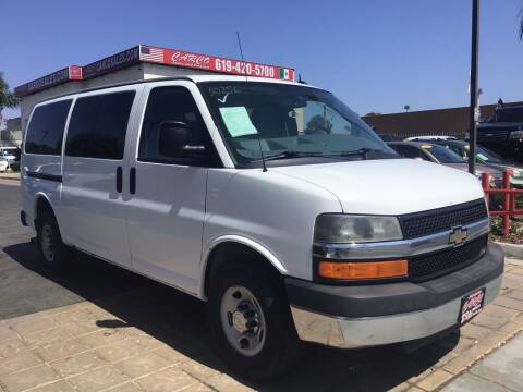 2013 Chevrolet Express Passenger for sale at CARCO SALES & FINANCE in Chula Vista CA