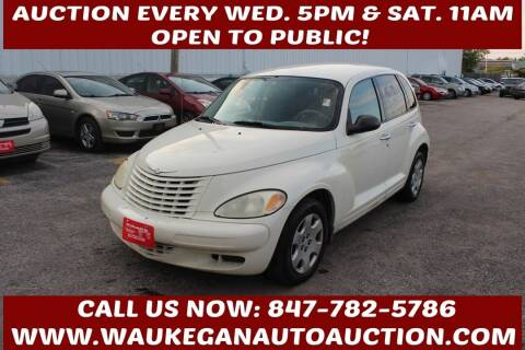 2005 Chrysler PT Cruiser for sale at Waukegan Auto Auction in Waukegan IL