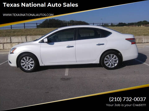 2014 Nissan Sentra for sale at Texas National Auto Sales in San Antonio TX
