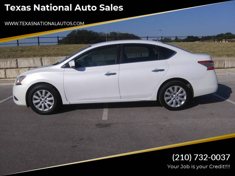 2014 Nissan Sentra for sale at Texas National Auto Sales in San Antonio TX