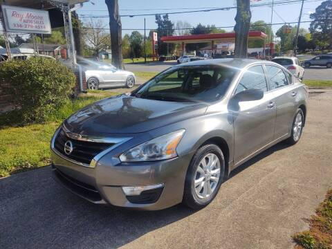 2015 Nissan Altima for sale at Ray Moore Auto Sales in Graham NC