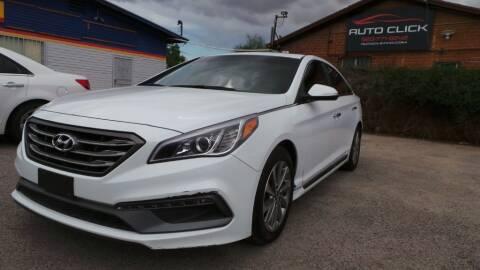 2017 Hyundai Sonata for sale at Auto Click in Tucson AZ