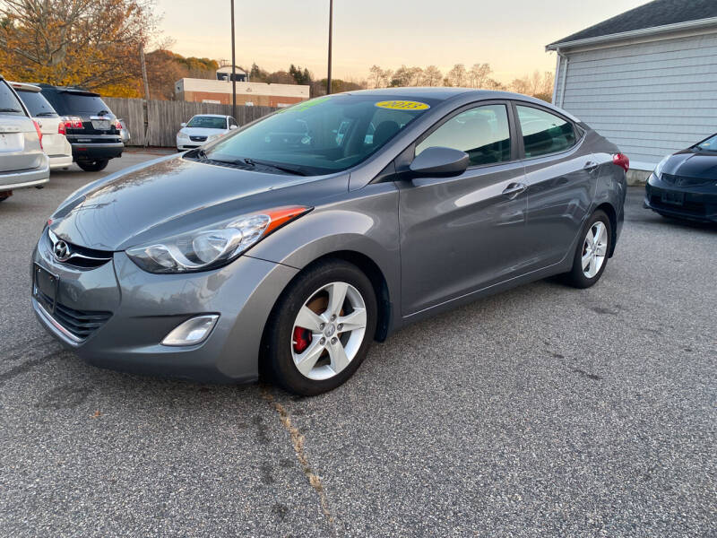 2013 Hyundai Elantra for sale at Capital Auto Sales in Providence RI