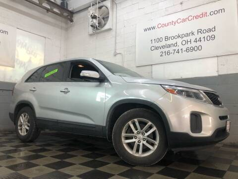 2014 Kia Sorento for sale at County Car Credit in Cleveland OH