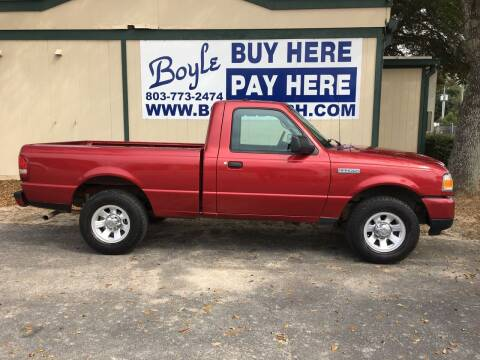 2008 Ford Ranger for sale at Boyle Buy Here Pay Here in Sumter SC