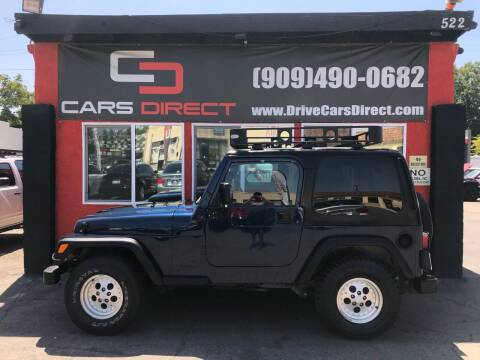 2001 Jeep Wrangler for sale at Cars Direct in Ontario CA