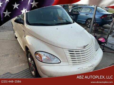 2004 Chrysler PT Cruiser for sale at ABZ Autoplex, LLC in Baton Rouge LA