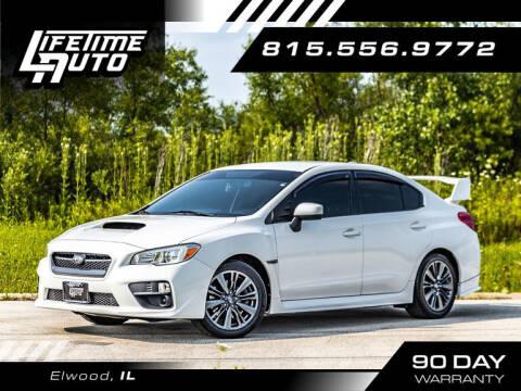 2015 Subaru WRX for sale at Lifetime Auto in Elwood IL
