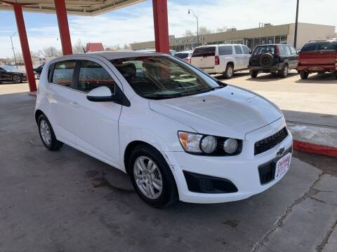 2013 Chevrolet Sonic for sale at KD Motors in Lubbock TX