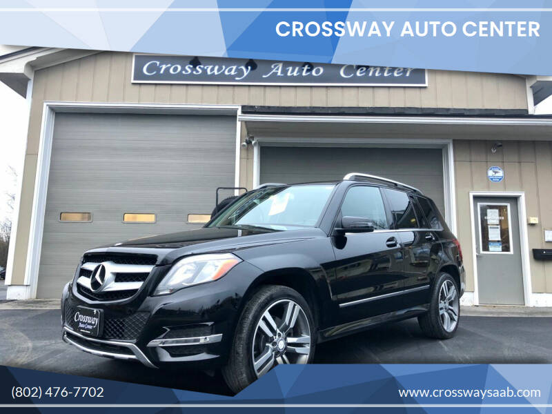 2015 Mercedes-Benz GLK for sale at CROSSWAY AUTO CENTER in East Barre VT
