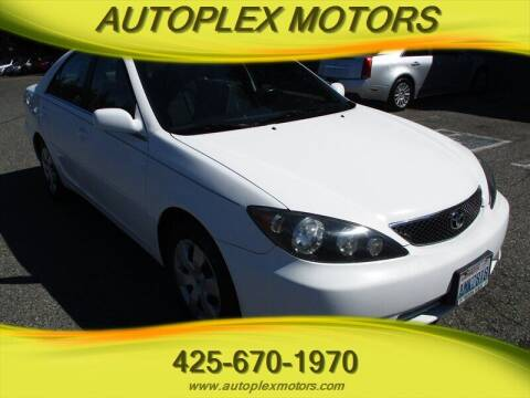 2005 Toyota Camry for sale at Autoplex Motors in Lynnwood WA