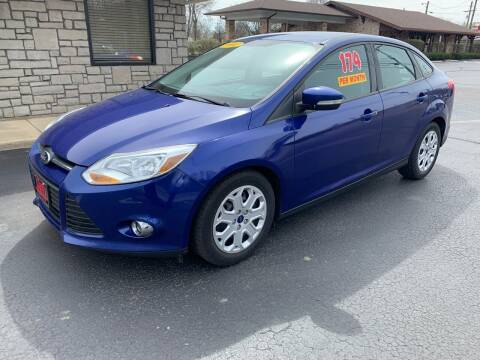2012 Ford Focus for sale at Clarks Auto Sales in Connersville IN