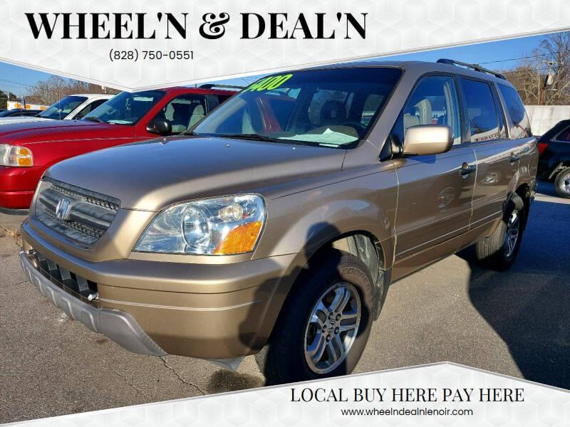 2005 Honda Pilot for sale at Wheel'n & Deal'n in Lenoir NC