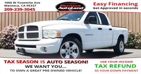 2002 Dodge Ram Pickup 1500 for sale at Manteca Auto Land in Manteca CA