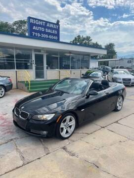 2009 BMW 3 Series for sale at Right Away Auto Sales in Colorado Springs CO