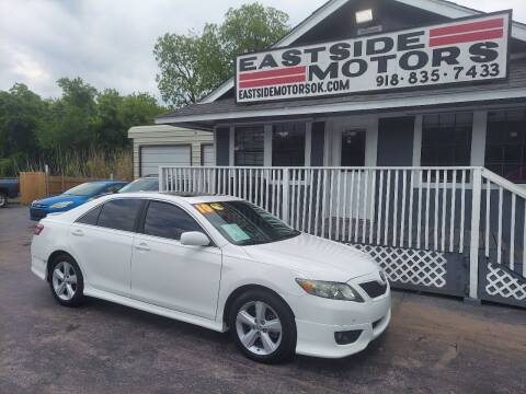 2010 Toyota Camry for sale at EASTSIDE MOTORS in Tulsa OK