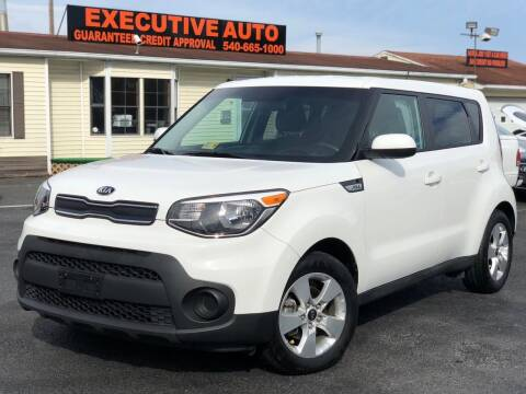 2018 Kia Soul for sale at Executive Auto in Winchester VA