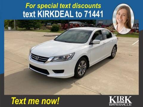 2015 Honda Accord for sale at Kirk Brothers Batesville in Batesville MS