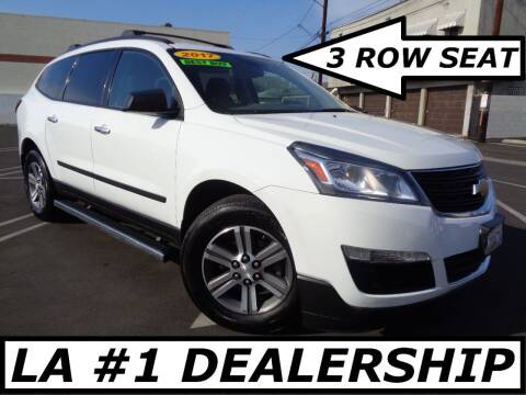 2017 Chevrolet Traverse for sale at ALL STAR TRUCKS INC in Los Angeles CA